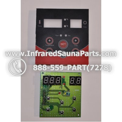 CIRCUIT BOARDS WITH  FACE PLATES - CIRCUIT BOARD WITH FACE PLATE  06S064 1
