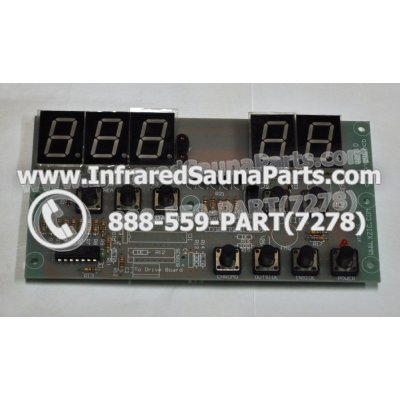 CIRCUIT BOARDS / TOUCH PADS - CIRCUIT BOARD  TOUCHPAD  SAUNAS TODAY INFRARED SAUNA X 106153 1
