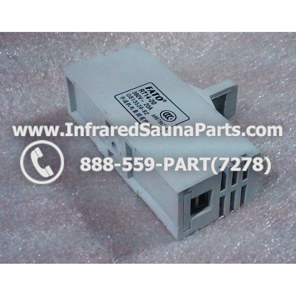 FUSES :: FUSE BLOCKS :: FUSE BLOCK RT14-20 380v 20AMP GB13539-92
