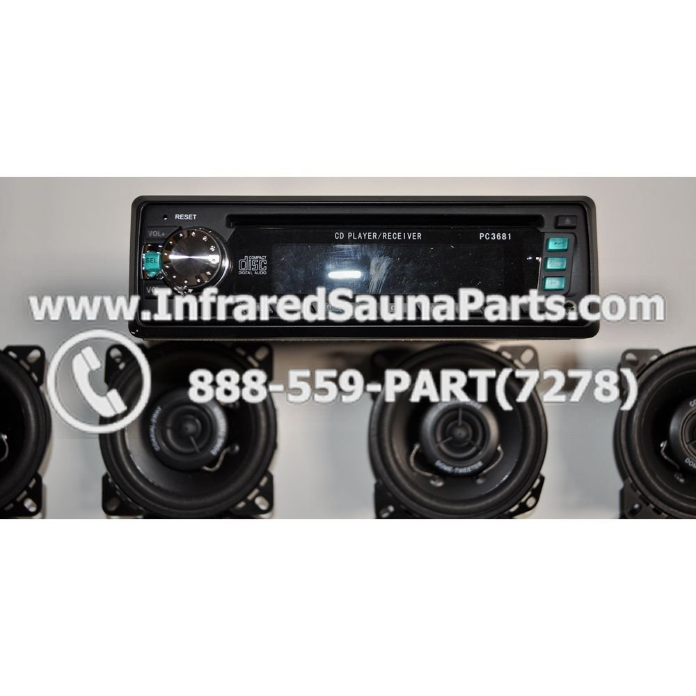 AUDIO ENTERTAINMENT COMPLETE STEREO SPEAKERS COVERS