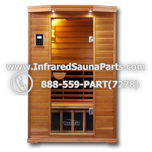 Pre-Made Infrared Sauna Kits :: Clearlight Premier Cedar Saunas