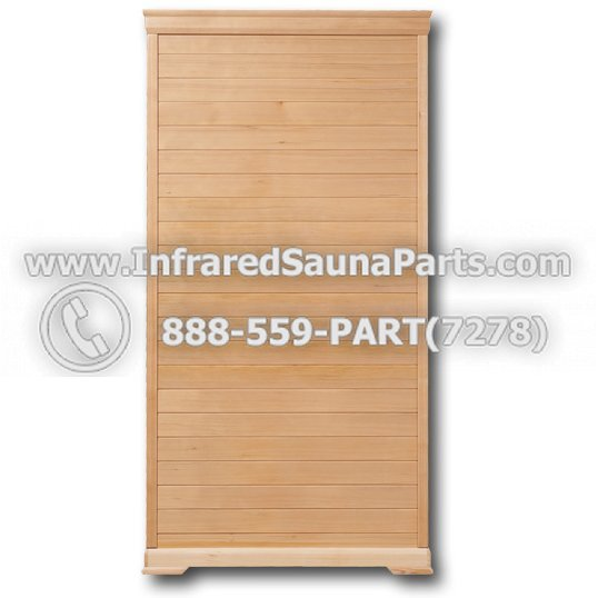 Pre-Made Infrared Sauna Kits :: Clearlight Essential Nordic Spurce